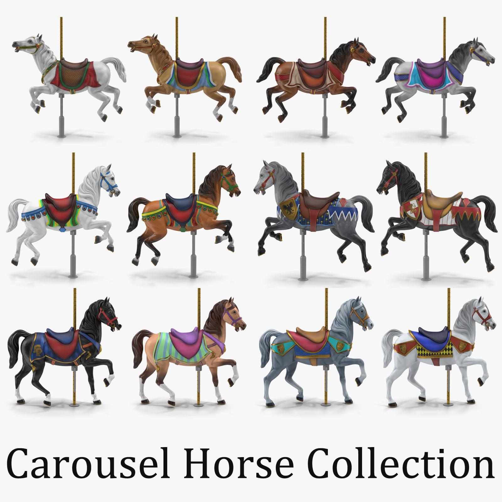 How To Make A Carousel Horse Cake
