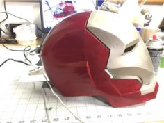 Iron Man Mark 46 Helmet (Civil War) 3D Print Model
