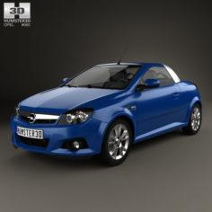 Opel Tigra TwinTop 2004 3D 3D Model
