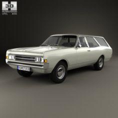 Opel Rekord C Caravan 1967 3D Model