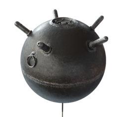 sea mine 3D Model