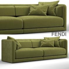 Fendi casa conrad maxi sofa 3D Model