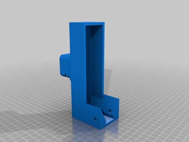 Nerf Rival Zeus Stock Attachment Adapter 3D Print Model