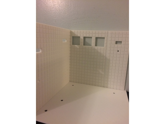 Wall Floor Bathroom 3d Print Model