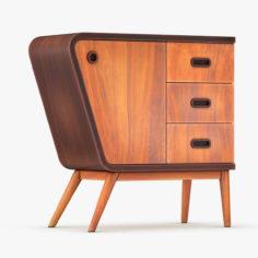 Vintage Sideboard 3D Model