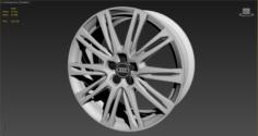 Wheel for Audi A8 3D Model