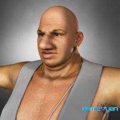 3D semi cartoon – Indian Human 3D Character model 3D Model