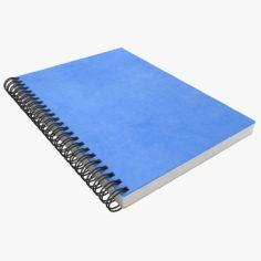 Notebook (Blue) 3D Model