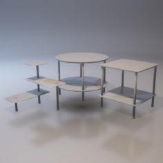 Tables 3D model 3D Model
