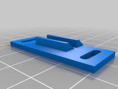 RV Camper Cabinet Latch Striker 3D Print Model