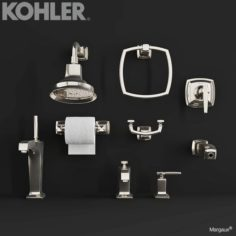 KOHLER Faucets MARGAUX 3D Model