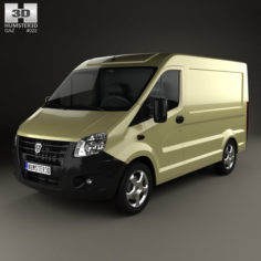 GAZ Sobol Next Panel Van 2013 3D Model