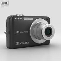 Casio Exilim EX- Z1050 Black 3D Model