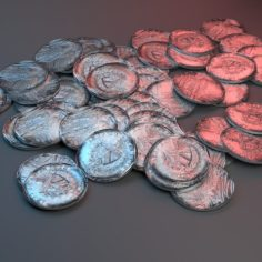3D Cuban Peso 3D Model