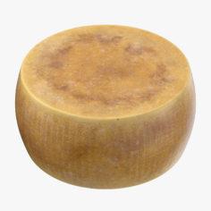 3D Parmesan Cheese Wheel 3D Model