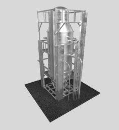 3D Oil Tank model 3D Model