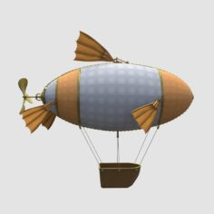 arship balloon 3D Model