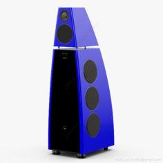 Meridian DSP8000 Blue 3D Model