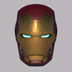Iron Man Mk 46 Helmet 3D Print Model