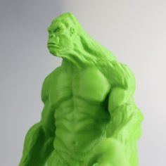 Yeti 3D Print Model