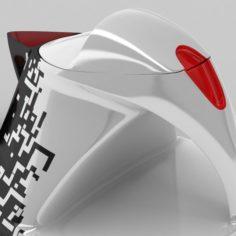 Tea Set 3D model 3D Model