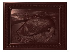 Carp Fishing bas relief for CNC 3D model 3D Model