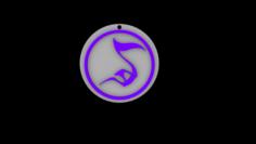 Legacy of Kain Sound Glyph Symbol 3D print ready 3D Model