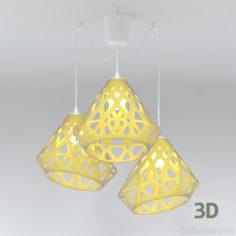3D-Model  ZAHA Chandelier LIGHT