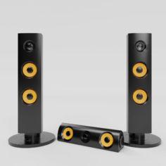 Speaker 3D model 3D Model