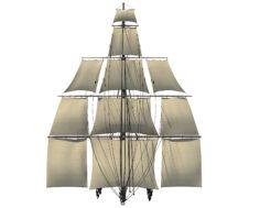 Sailing Ship Mast V1 3D model 3D Model