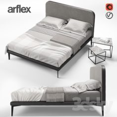 ARFLEX SUITE bed                                      3D Model