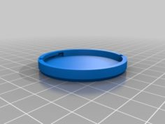 Eisenhower Dollar Coin Holder 3D Print Model