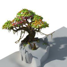 Hundred Flowers Valley – Big Tree 01 3D Model