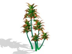 Mount Cliff – Small Plant 05 3D Model