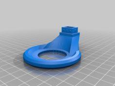 Anet A8 Fan short nozzle with optimized air flow 3D Print Model