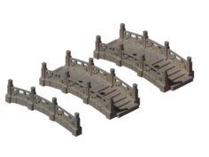 Kunlun – Square Stone Bridge 01 3D Model