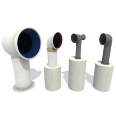 Deflectors 3D Model