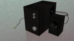 Subwoofer 3D Model