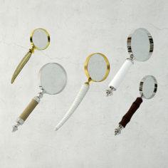 3D model Decorative Magnifying Glasses  / ZARA HOME 3D Model