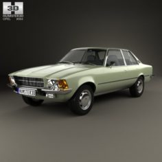 Opel Rekord D 1972 3D Model
