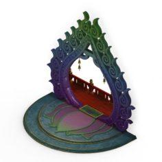 Pagoda – Buddha 3D Model