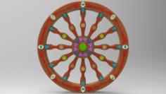 Sicilian Cart 3D Model