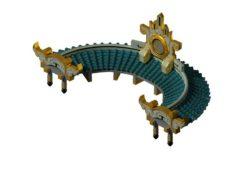 Kunlun – Tai Chi Suspension Bridge 3D Model