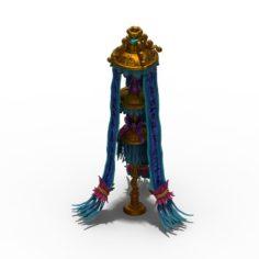 Lee pagoda – the second floor – banner 3D Model