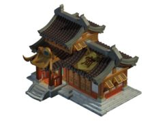 Ancient Capital Architecture – Chamber of Commerce 3D Model