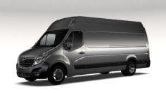 Opel Movano L4H3 Van 2016 3D Model