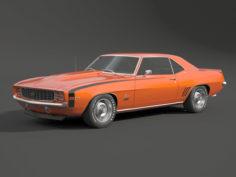 3D 1969 camaro ss model 3D Model