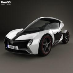 Opel RAK e 2011 3D Model