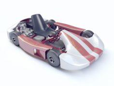 Go-kart Racing 3d model Vray 3D Model