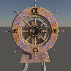 Rudder 3D model 3D Model